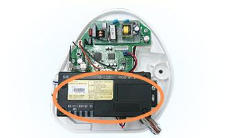 無線通信機内蔵のポット
